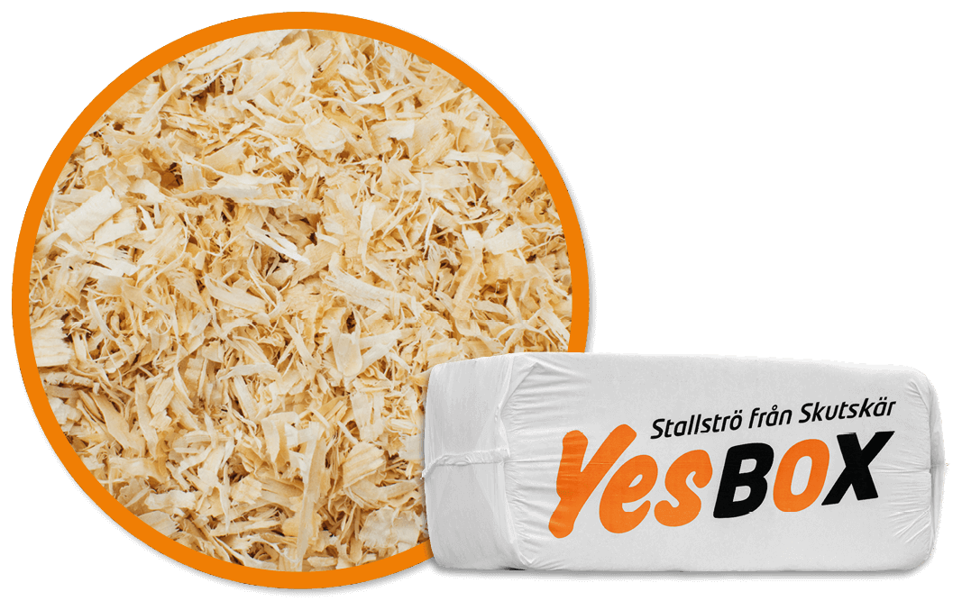 YesBox stable bedding standard
