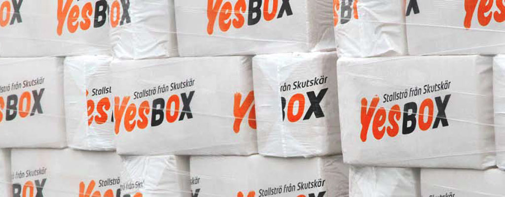 YesBox stable bedding
